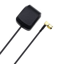 Vehicle GPS Navigation Active Antenna with Magnetic Base SMA Right Angle Adapter