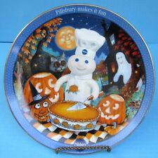 2002 Danbury Mint Pillsbury Doughboy Halloween Pumpkin Pals Collector Plate Fs!