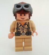Lego Indiana Jones Minifigura soldado alemán, condición usada (N018)