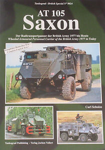 SAXON MILITARY VEHICLE Armoured Personnel Carrier NEW British Army AT 105 APC