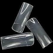 Professional Clear Nail Tips For Nail Extensions Nails (Half Tips - 500pcs)