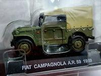 Fiat Campagnola A.R. 59 1959 Carabinieri - Scala 1:43 - Atlas - Nuovo