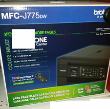 Brand New Brother MFC-J775DW Color Inkjet All-in-One with INKvestment