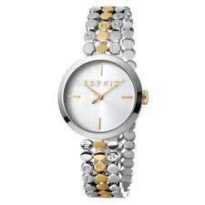 ESPRIT Ladies Watch Watches FREE Bracelet Bliss Silver and Gold Quartz RRP £139