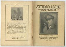 STUDIO OF LIGHT, MAY 1930 VOL 22, MAGAZINE FOR PHOTO PROFESSIONALS