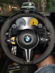 BMW Carbon Fiber Steering Wheel Shift Gear Paddles F10 F11 F12 F13 5 6 Series