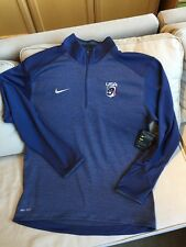 NWT NIKE TEAM USA MEN'S 1/2 ZIP LONG SLEEVE TOP/SWEATER SZ LARGE NEW W/TAGS!