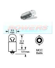 LUCAS LLB289 24V VOLT 2W MCC BA9S SINGLE CONTACT LIGHT BULB BAYONET FITTING