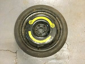 """BMW 645 630 d 6 Series 18"""" Spare Space Saver Wheel Tyre Alloy 125 70 R18 E63 E64"""