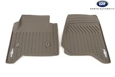 2017 2019 Chevrolet Tahoe Suburban Premium All Weather Front Mats 23452758 Dune