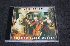 Andrew Lloyd Webber - Variations (CD, 1978, MCA) Gary Moore Rod Argent Don Airey