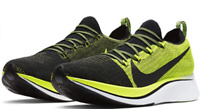 Nike Zoom Fly Flyknit Running Shoes Black Volt Men's BV6103-002 Size 11.5 New