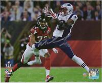 "Malcolm Mitchell New England Patriots Signed 8"" x 10"" Super Bowl LI Action Photo"