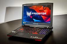 Acer Predator 17x gx-791-73kd - i7 - 8 Go gtx980m - 1tb+2x 128ssd 16 Go RAM G-Sync