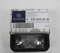 New Genuine Mercedes R230 SL-Class Rear Number Plate Bulb Holder A2308200256 OEM