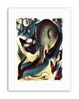 PAINTINGS ANIMAL CAT BUTTERFLY SIAMESE Picture Painting Canvas art Prints