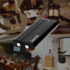 8Gb Spy Mini Digital Audio Voice Activated Call Recorder Pen Mp3 Player Clip Usb