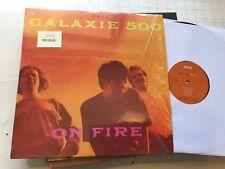 GALAXIE 500 On Fire VINYL LP Shoegaze 2009 re '89 Dean & Britta LUNA Wareham !!