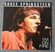 Bruce Springsteen, i'm on fire, SP - 45 tours Promo Espagne
