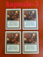 4x Brass Man | Revised | MTG Magic The Gathering Cards