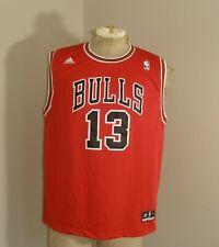 Youth Boys ADIDAS NBA CHICAGO BULLS Joakim NOAH #13 Red Basketball Jersey XL