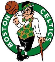 Boston Celtics Vinyl Decal ~ Car Truck Sticker - Wall Graphics, Cornholes