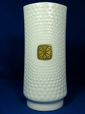 Unusual 70´s design SCHUMANN ARZBERG  relief porcelain vase 1027 / 22 glazed
