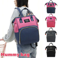 Mummy Storage Changing Bag Waterproof Baby Diaper Backpack for Mother Nursing