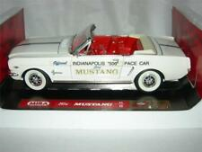1964 1/2 FORD MUSTANG INDIANAPOLIS 500 PACE CAR IN WHITE LIM.ED. BY MIRA NEW.MIB