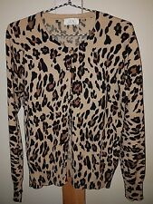 UCW Animal Print Cardigan Size 10 -12