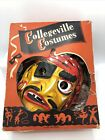 Vintage Collegeville Captain Kidd Pirate Halloween Costume And Mask Size Large
