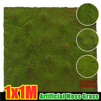 Artificial Moss Grass Artificial Lawn Synthetic Fake Lawn Astro Turf Grass