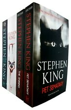 Stephen King Collection 4 Books Set Pet Sematary,The Shining,It, Doctor Sleep