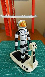 "1966 Mattel MAJOR MATT MASON with SPACE HELMET & SPACE SLED - ""Man In Space"""