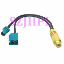 RCA female JACK to Y Fakra SMB Z 5021 male female RG174 Splitter Combiner cable