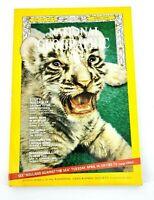 Vintage National Geographic Magazine April 1970 White Tiger Australia Ladybugs