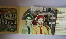 Flight Of The Conchords US CD 2008 Card-FOC + Poster  Sub Pop