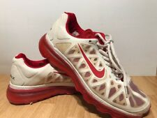 NIKE - Air Max+ 2011 - White / Red 429889 WOMEN SIZE 7.5 CHALLENGE