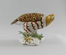Porzellan Figur Vogel Rebhuhn Fasan ENS 26x18cm 9997831