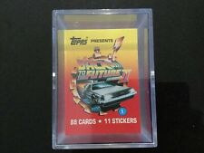 Back To The Future II Full Set Of 88 Trading Cards And 11 Stickers - Topps 1989