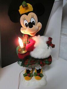 Telco Disney Minnie Mickey Mouse Winter Wonderland Motionette Christmas 1995