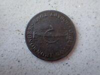 Australia & NZ token: Hutton G, Hobart Tasmania ND 1/2d (B1)