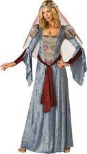 InCharacter Costumes Women's Maid Marian Costume, Blue/Burgundy/Grey, Medium