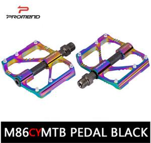 PROMEND 3 Bearings MTB Road Bike Pedal Carbon Aluminium Mountain Bicycle Pedals
