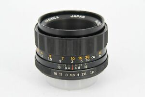 Yashica Yashinon-DS 50mm f1.8 M42 Screw Mount Lens - Scratched Rear Element -...