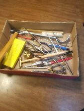 Clock Repair Tools See Pictures gold silver brass copper
