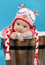 Baby Boy Shower Crochet Beanie Gift Costume Small Knit Photo Props girl Hat Warm