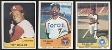 1979-1985 Ty Waller Card Lot - San Diego CA, Cardinals, Cubs, Astros, A656