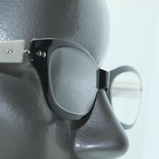 Reading Glasses Cat Eye Super Twisty Flexi Frame : White Black +3.00 Strength