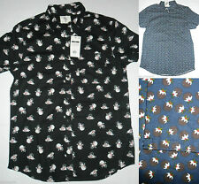 Primark casual shirts tops for men ebay for Primark button down shirt